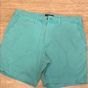 "American Eagle extreme flex slim fit shorts 34"""